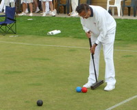 Don at Croquet